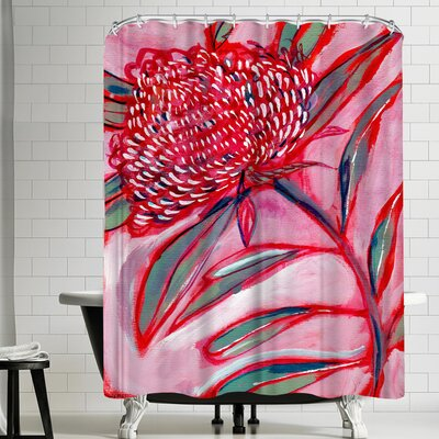 Paula Mills Botanicle No 1 Shower Curtain