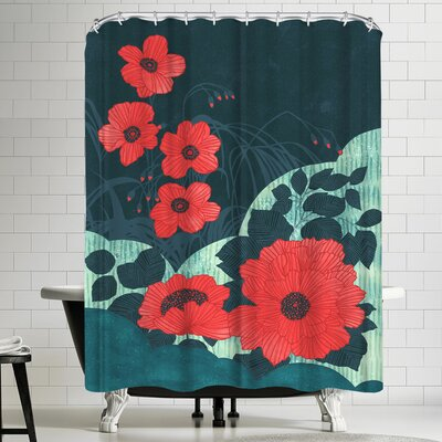 Ruby Shower Curtain