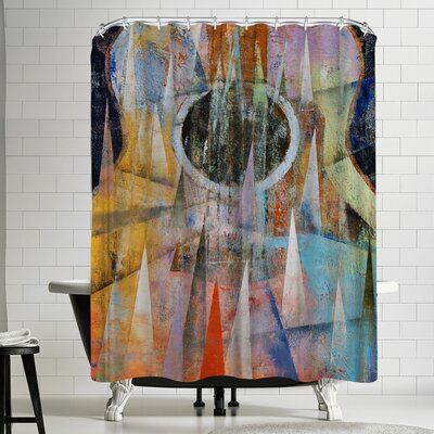 Michael Creese Mountain Guitar Shower Curtain