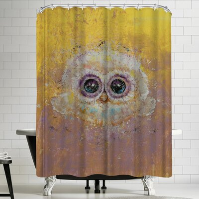 Michael Creese Owl Shower Curtain