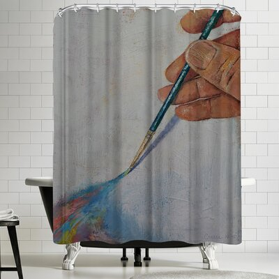 Michael Creese Painting Shower Curtain
