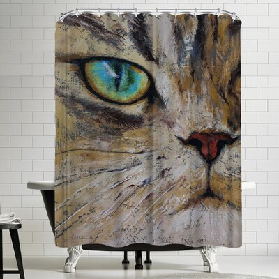 Michael Creese Persian Cat Shower Curtain