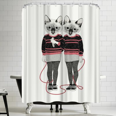 Laura Graves Siame Set Wins Shower Curtain