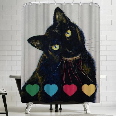 Michael Creese Pick Your Poison Shower Curtain