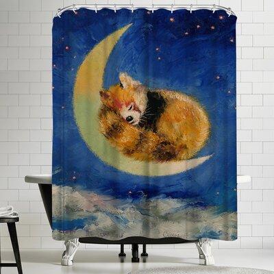 Michael Creese Red Panda Dreams Shower Curtain