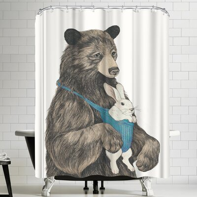 Laura Graves The Bear Aupair Shower Curtain