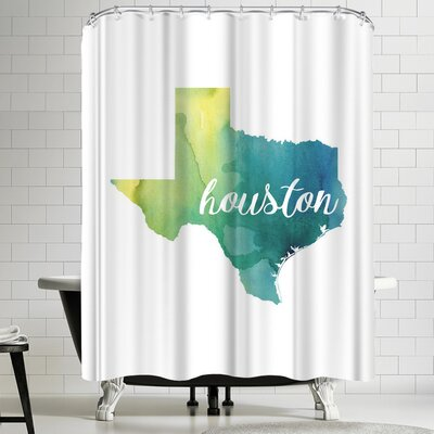 Paperfinch TX Houston Shower Curtain