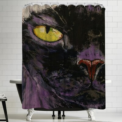 Michael Creese Sphynx Cat Shower Curtain
