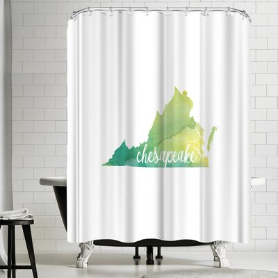 Paperfinch VA Chesapeake Shower Curtain