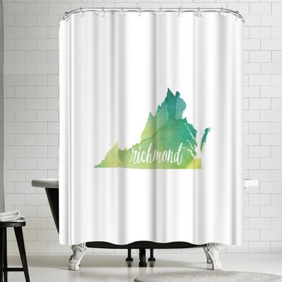 Paperfinch VA Richmond Shower Curtain
