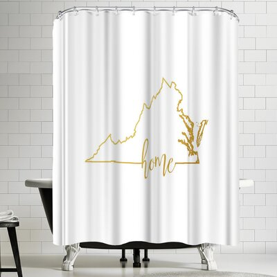Paperfinch Virginia Home Shower Curtain