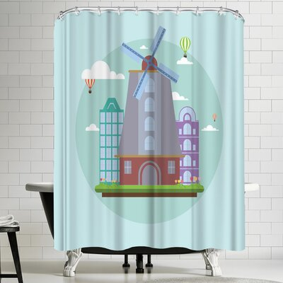 Wonderful Dream Amsterdam Netherland Shower Curtain