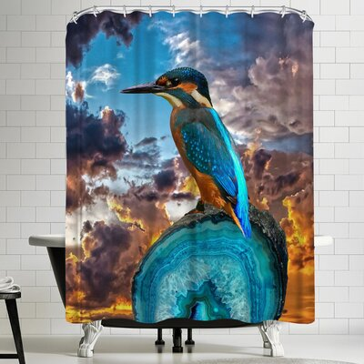 Wonderful Dream Bird Nature Sunset Shower Curtain