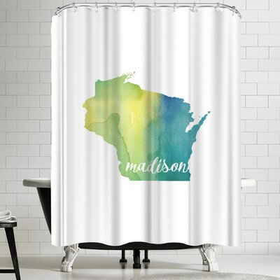 Paperfinch WI Madison Shower Curtain