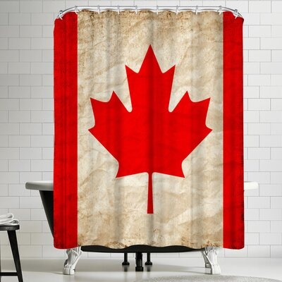 Wonderful Dream Canada Flag Shower Curtain