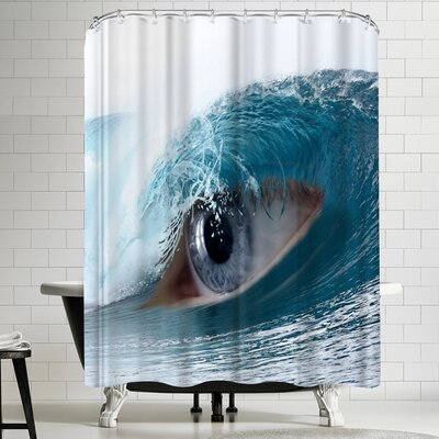 Wonderful Dream Fantasy Eye Ocean Shower Curtain