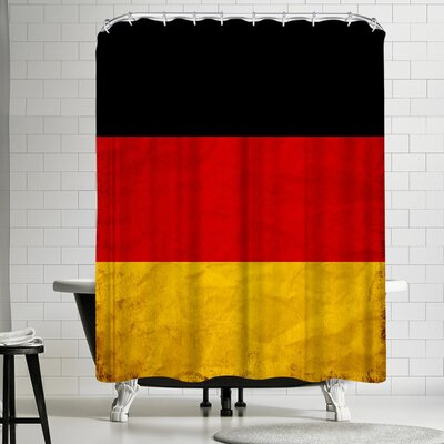 Wonderful Dream Germany Flag Shower Curtain