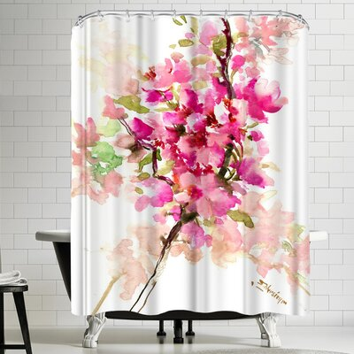 Suren Nersisyan Cherry Blossom, Sakura 1 Shower Curtain