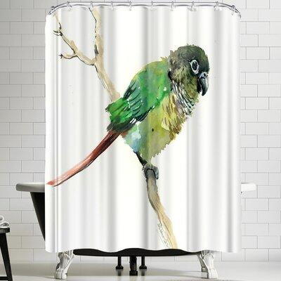 Suren Nersisyan Conure Parakeet Parrot Shower Curtain