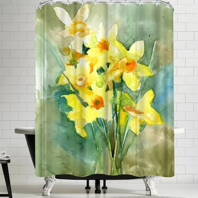 Suren Nersisyan Daffodil Shower Curtain