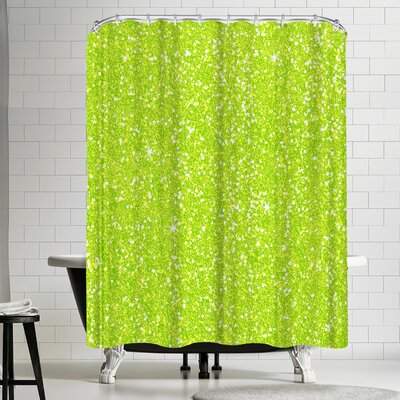 Wonderful Dream Green Diamond Shower Curtain