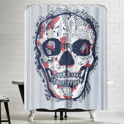 Tracie Andrews Scars Shower Curtain