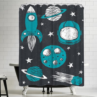 Space Age Shower Curtain