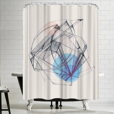 Tracie Andrews Structura Shower Curtain