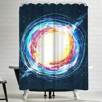 Supernova Shower Curtain