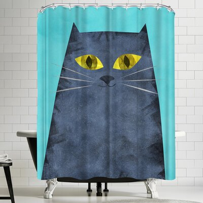 Tracie Andrews Tabby Shower Curtain
