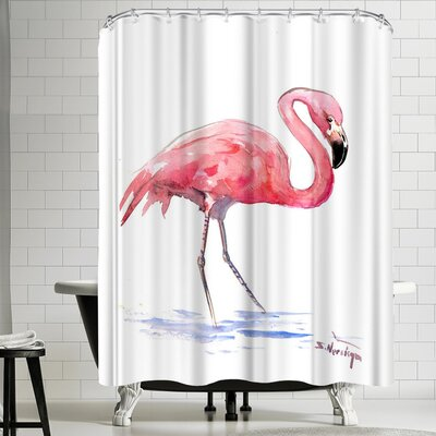 Suren Nersisyan Flamingo 3 Shower Curtain