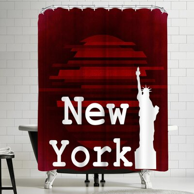 Wonderful Dream New York America Shower Curtain