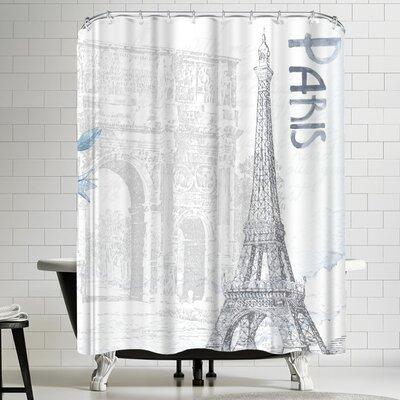 Wonderful Dream Paris France Shower Curtain