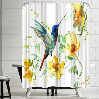 Suren Nersisyan Hummingbird 2 Shower Curtain