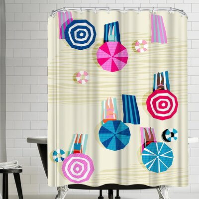 Wacka Designs A Ok Shower Curtain