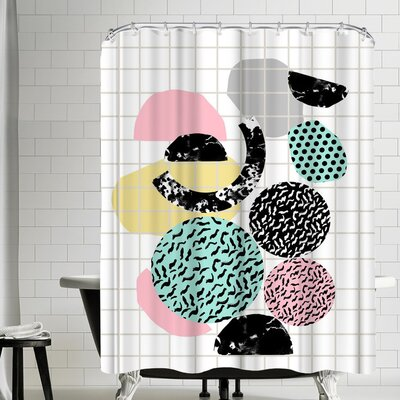 Wacka Designs Amp Shower Curtain