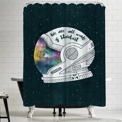 Tracie Andrews We Are All Made of Stardust Shower Curtain