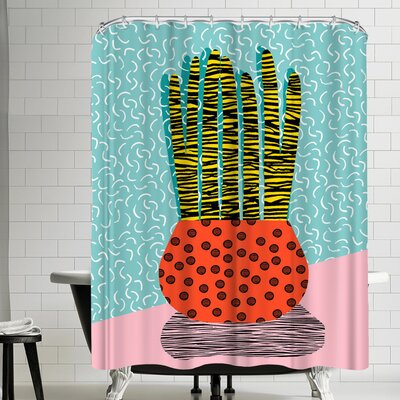 Wacka Designs Amped Shower Curtain