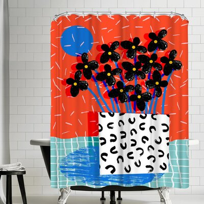 Wacka Designs Ay Oh Shower Curtain