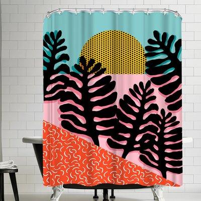 Wacka Designs B F F Shower Curtain