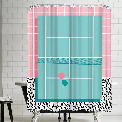 Wacka Designs Baller Shower Curtain