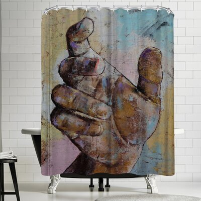 Michael Creese Zombie Hand Shower Curtain