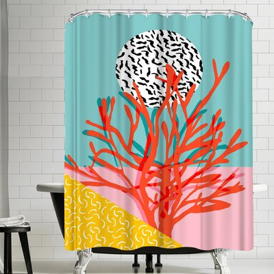 Wacka Designs Big Time Shower Curtain