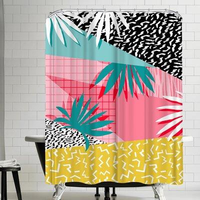 Wacka Designs Bingo Shower Curtain