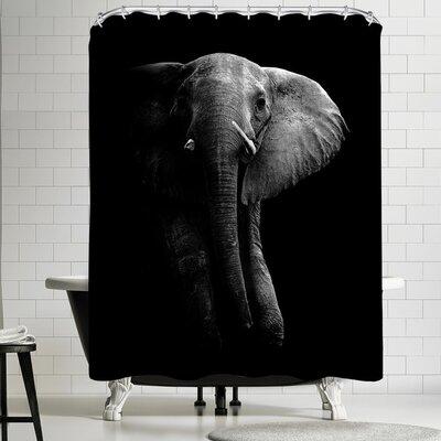 1x Elephant! Shower Curtain