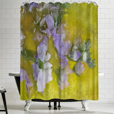 Zina Zinchik Swan Grace Shower Curtain