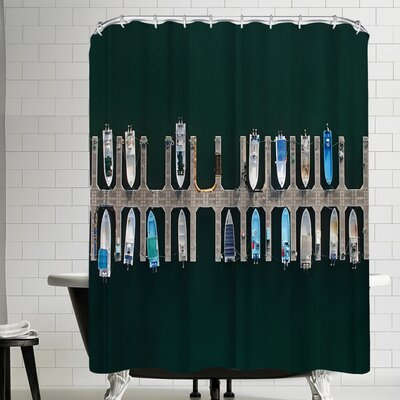 1x Vertical Alignment Shower Curtain