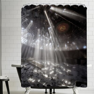 1x Buzludzha Shower Curtain