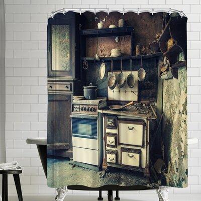 1x My Kitchen Escapades Shower Curtain