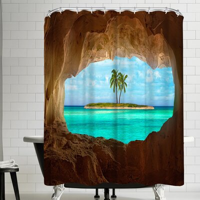 1x Paradise Shower Curtain
